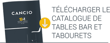 Télécharger Catalogue de Tables Bar et Tabourets